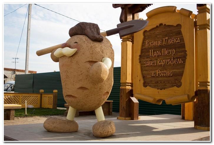 Когда картофель появился в России?
