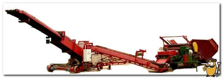 транспортер-загрузчик для картофеля