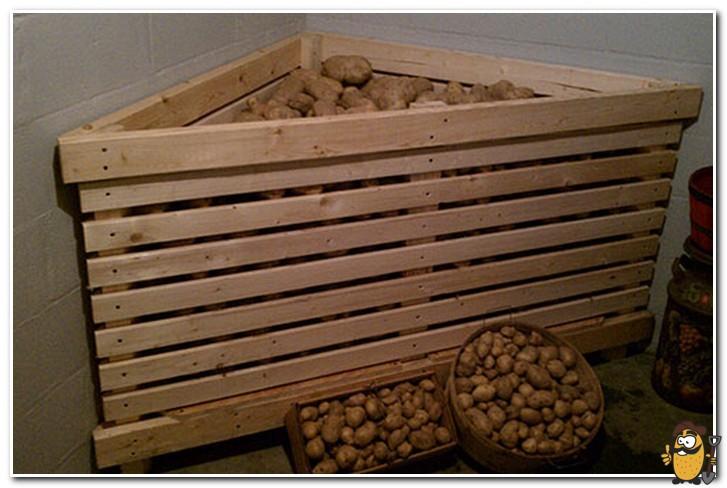 ящик для хранения в яме