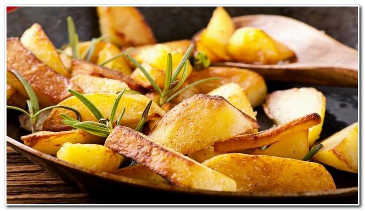 жареный картофель романо