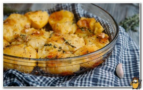 запеченный картофель от джейми оливера