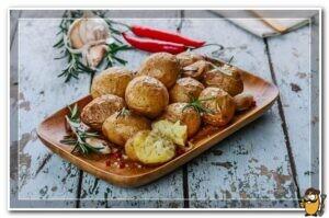 печеный картофель в кожуре