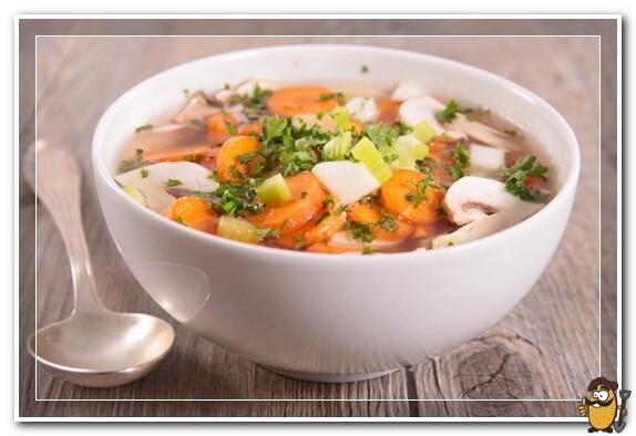 суп картофельный с сельдереем