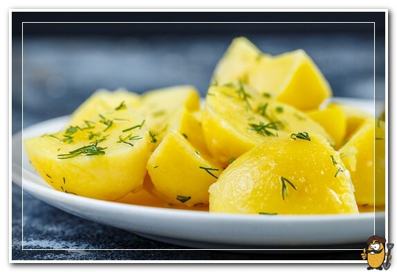 вареный картофель