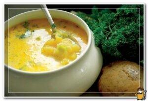 жирный суп из картофеля