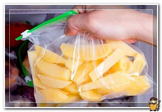 картофель для заморозки