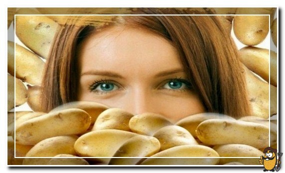 картошка против выпадения волос