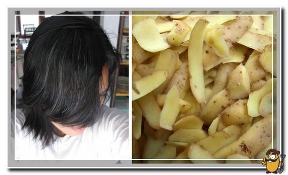 кожура картофеля для волос